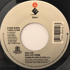 DEEE-LITE:POWER OF LOVE(LABEL SIDE-B)