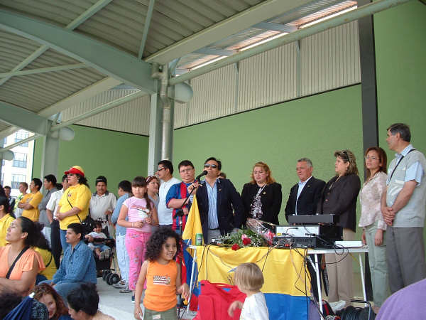 Inauguración IV Copa Integración