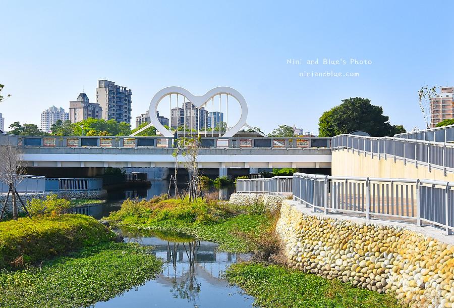 台中西川橋 景觀橋 愛心 玉音 崇倫 水岸17