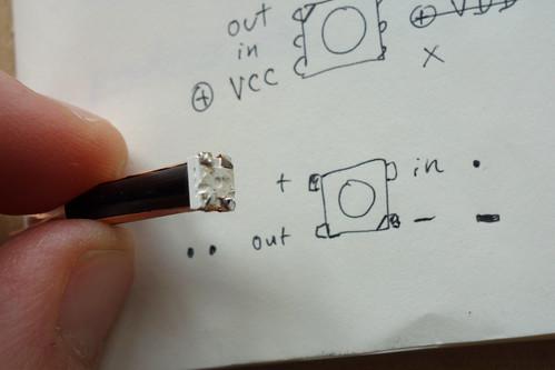 Bumblebee Neopixel to OpticFiber Connector