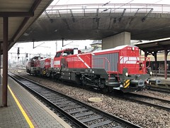 New CFL Cargo Lokomotive by Vossloh