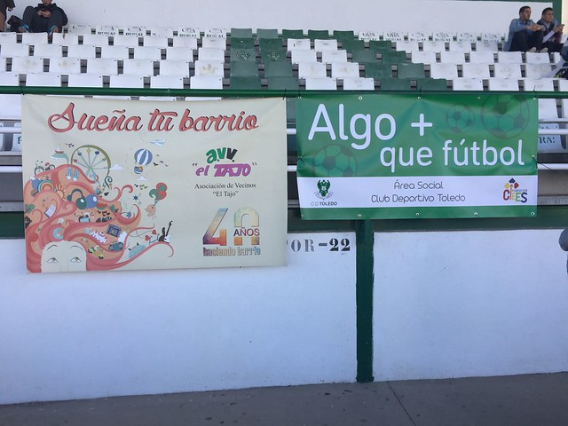 """Grada + que fútbol AAVV """"El Tajo"""" (Domingo 18 de marzo de 2018)"""