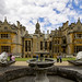 Small photo of Harlaxton Manor, rear view