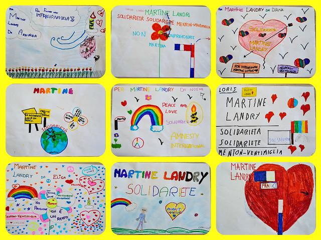 Azione di solidarietà per Martine Landry