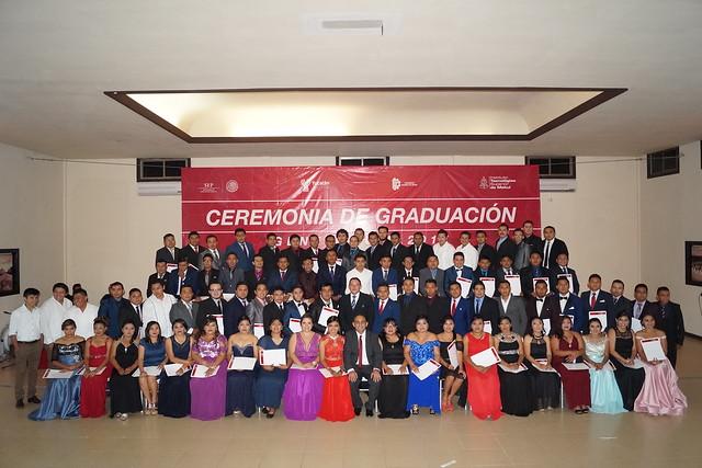 Ceremonia de graduación de la generación 2017