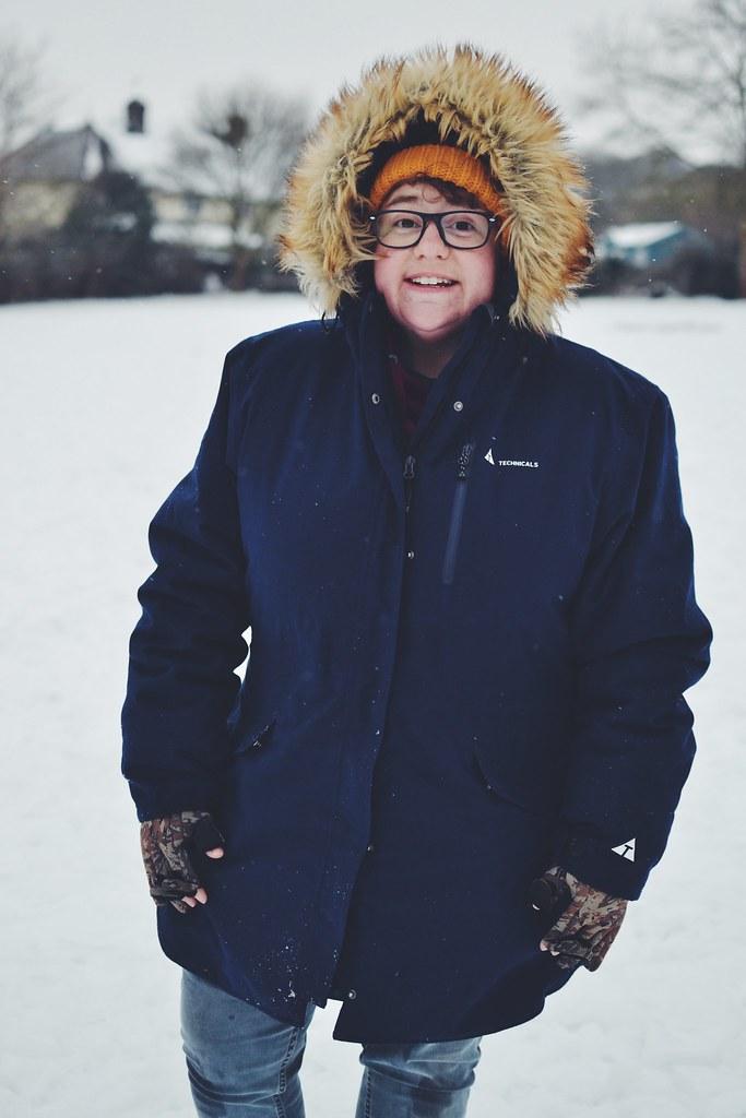 Snow day Mama