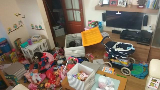 ¿Necesitan tantos juguetes?