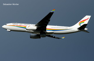 330.243 TIBET AIRLINES B-1047 1845 DELIVERY FLIGHT 11 03 18 TLS