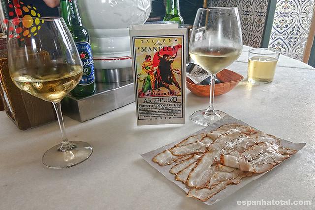 comer em Cádiz