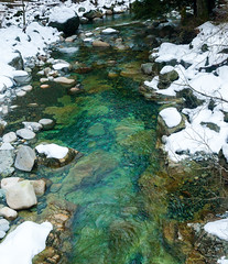 Snowy Lynn Creek