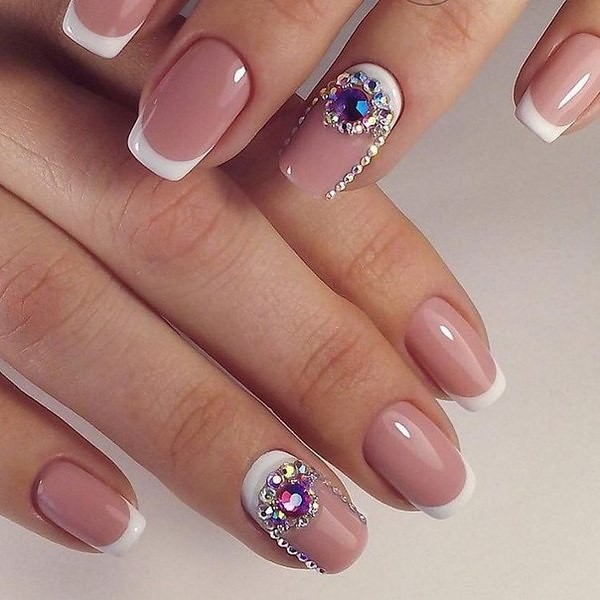 french-nail-art-with-crystals-moon-nail-ideas