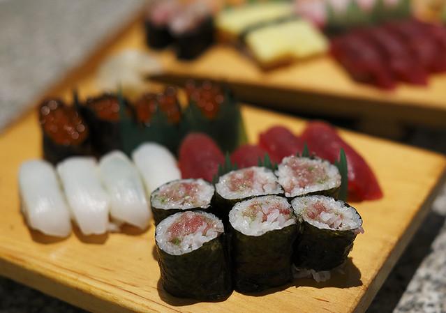 my choice of sushi