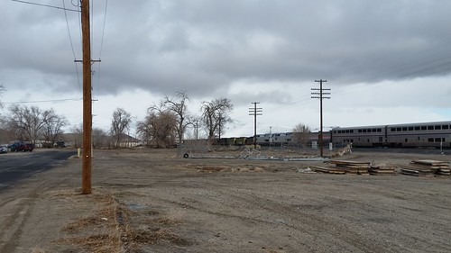 Trains and Snow at Fernley