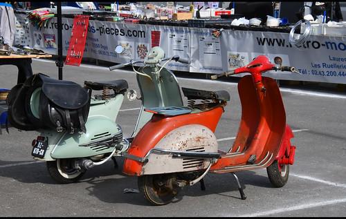Scooters Vespa Piaggio