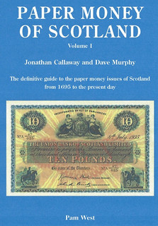 Paper Money of Scotland book cover