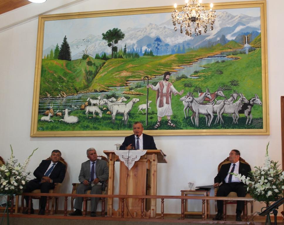 Celebración 25 años de Ministerio Pastoral en Trehuaco.