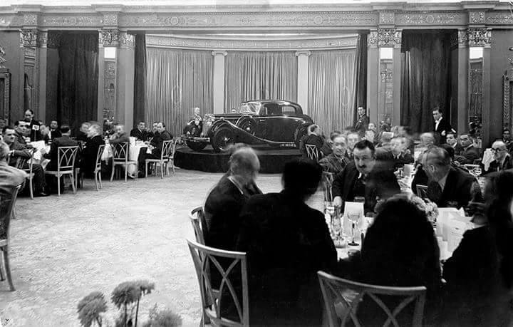 Mayfair Hotel London 1935.....the beginning of Jaguar Legend!