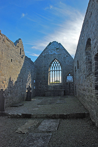 The ruins of the Murrisk Friary, Ireland
