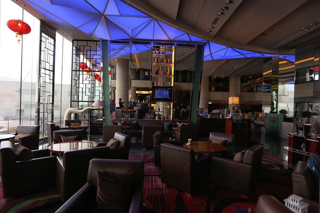Marriott Hong Kong SkyCity Lobby.