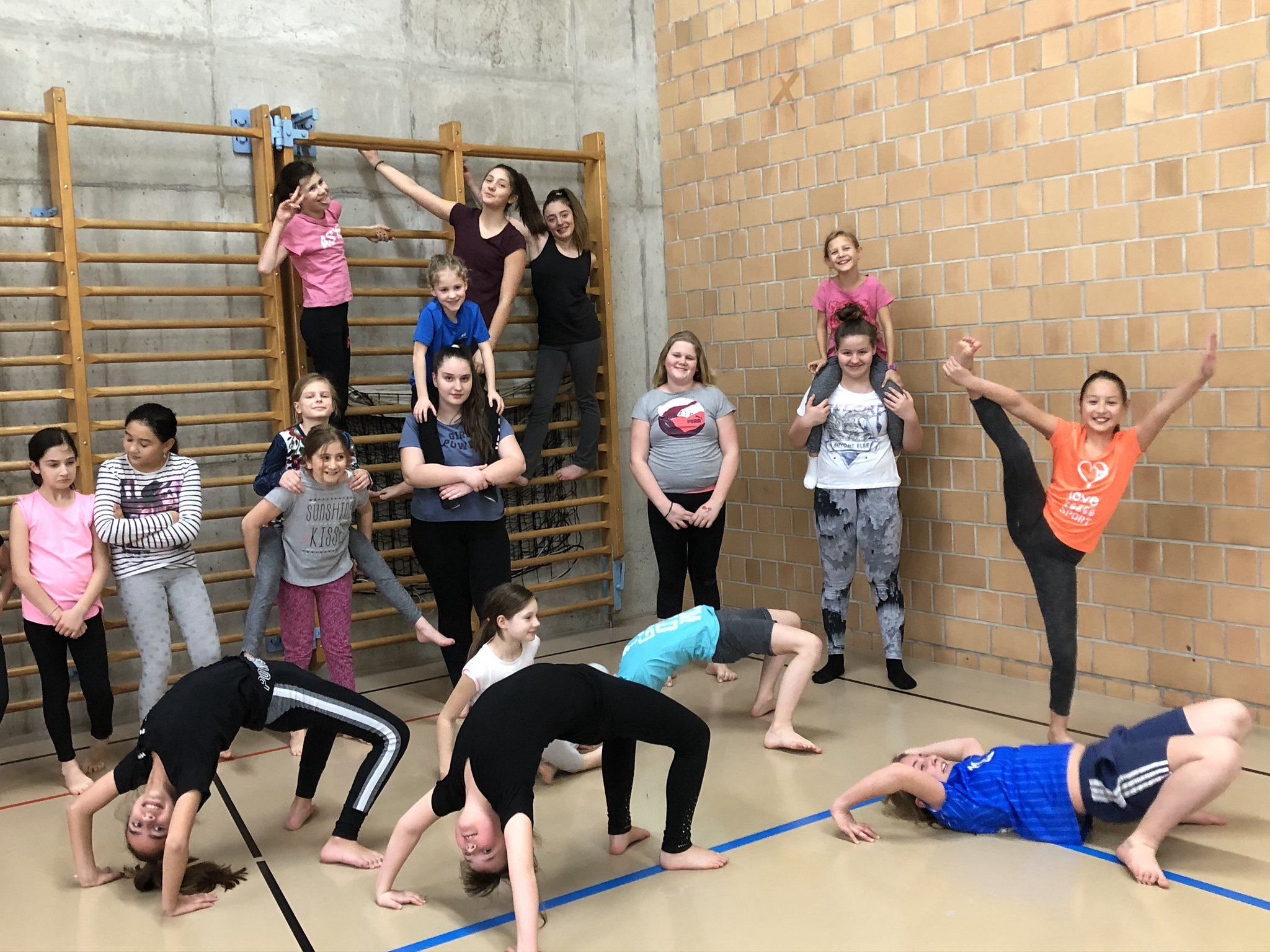 Gruppenfoto Gymnastik Jugi