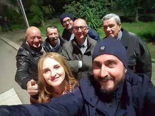 Sandro Laera e il direttivo Fdi
