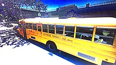 Friday Special- Two 2001 Bluebird International 3800 DT466E, Citywide Transit Inc. Bus#2105, and 2104. (Now Operated By New Dawn Transit)