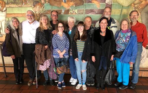 L R: Mrs. jotter, jotter, kimoconnor, Glen The Plumber, remembrance, maggie jean, The Little One, Linkage, Neeta Lind, jck, Lorikeet and First Lieutenant side pocket