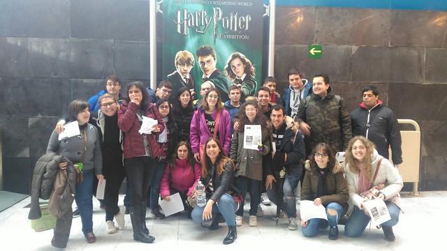 Exposición Harry Potter (Sábado 10 de marzo de 2018)