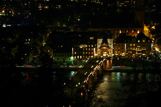 Heidelberg at night 2015