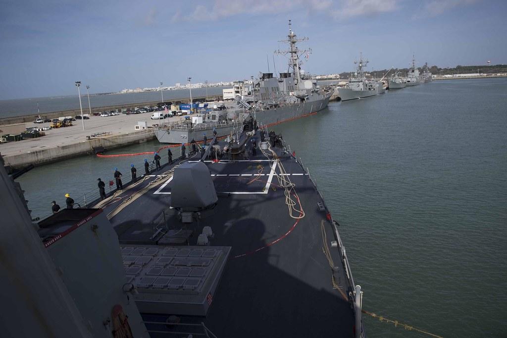 uss donald cook departs naval station rota spain u s naval
