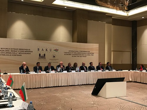 13-14.03.2018 Sergiu Sîrbu la Conferința de la Baku