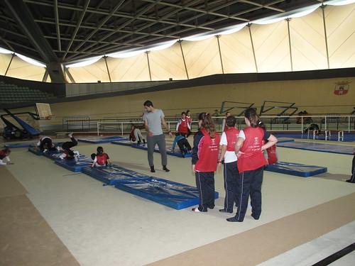 Promoción Deportiva para escolares en el Palacio de Deportes