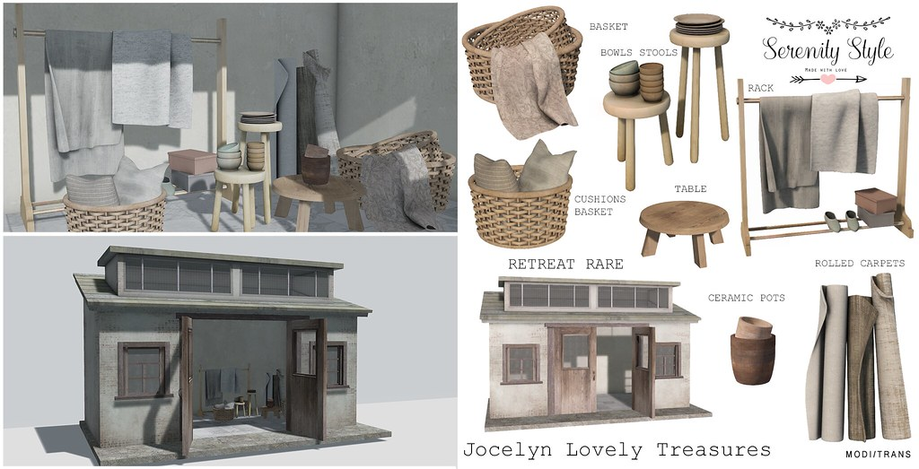 Serenity Style- Jocelyn Lovely Treasures