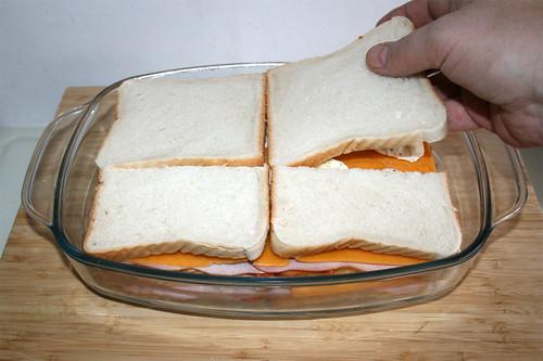 34 - Sandwichtoast auflegen / Add sandwich toast
