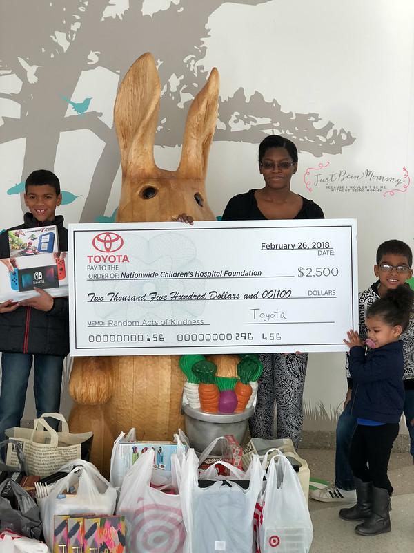 Toyota donation