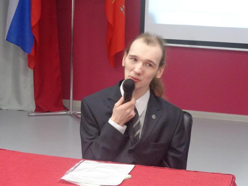 3-е выступление в СПБГИПСР поэт Александр Меркушев