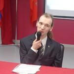 Третье выступление в СПБГИПСР. поэт Александр Меркушев