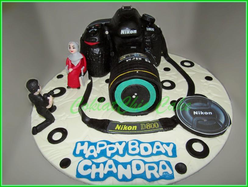 Cake Nikon D800 CHANDRA Real Size