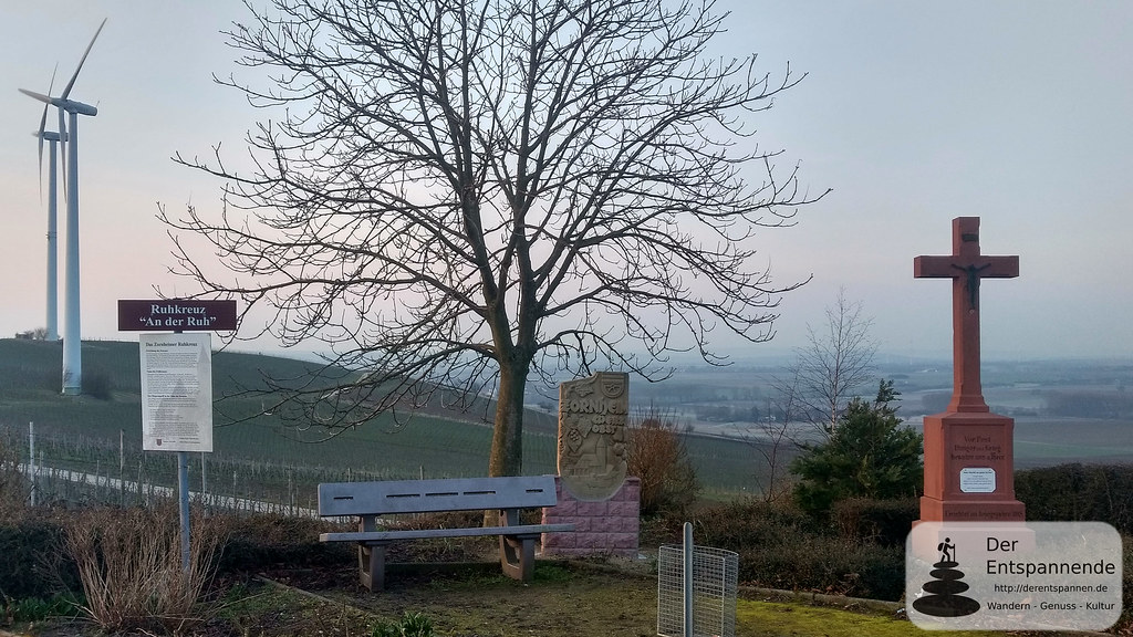 Das Ruhkreuz bei Zornheim