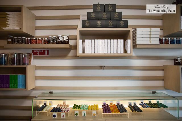 Chocolates display case