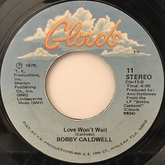 BOBBY CALDWELL:WHAT YOU WON'T DO FOR LOVE(LABEL SIDE-B)
