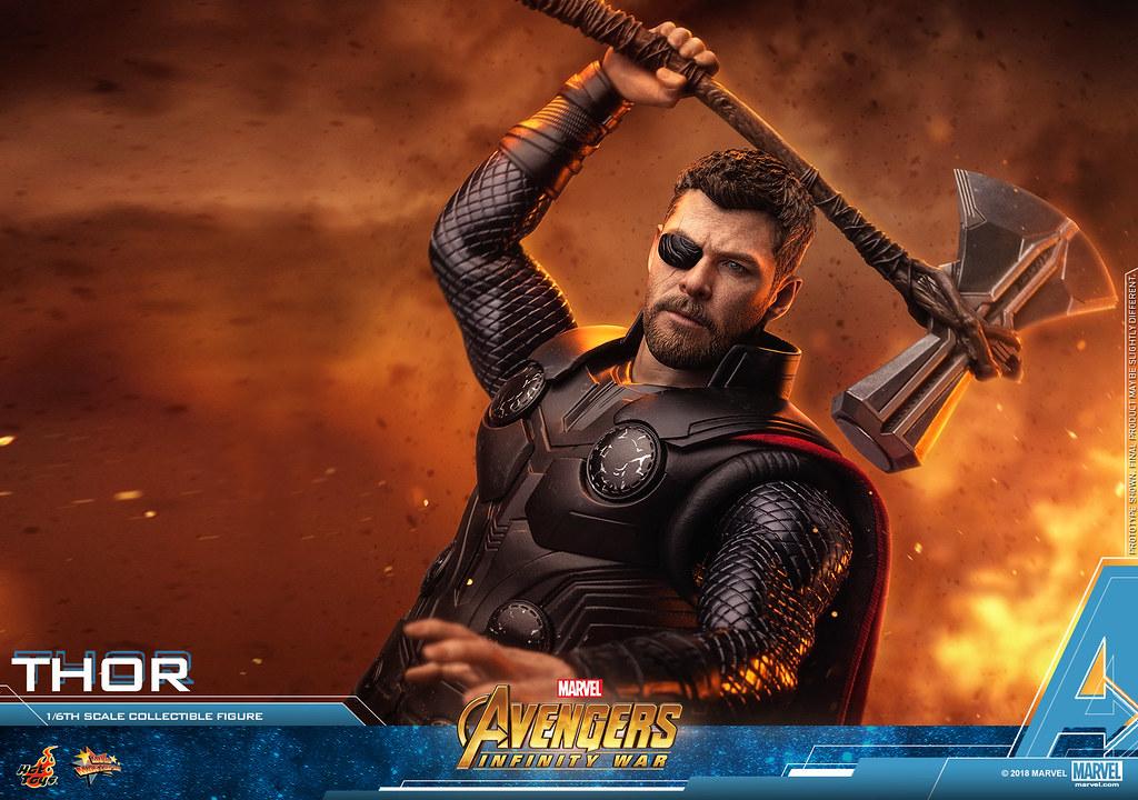 Hot Toys – MMS474 - 《復仇者聯盟:無限之戰》 1/6 比例 雷神索爾 Avengers: Infinity War Thor