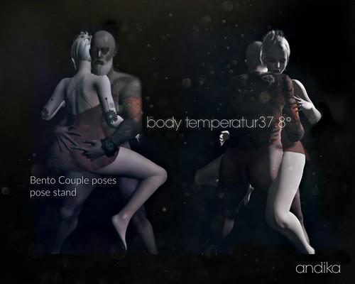 andikaGG[body temperature37.8°]Bento couple poses
