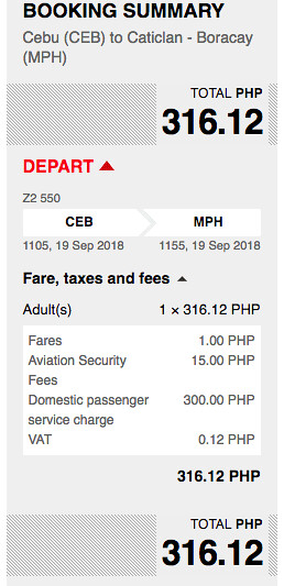 AirAsia Promo Cebu to Boracay September 19, 2018