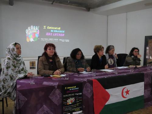 I Encuentro de Mujeres que Luchan, 10/03/18