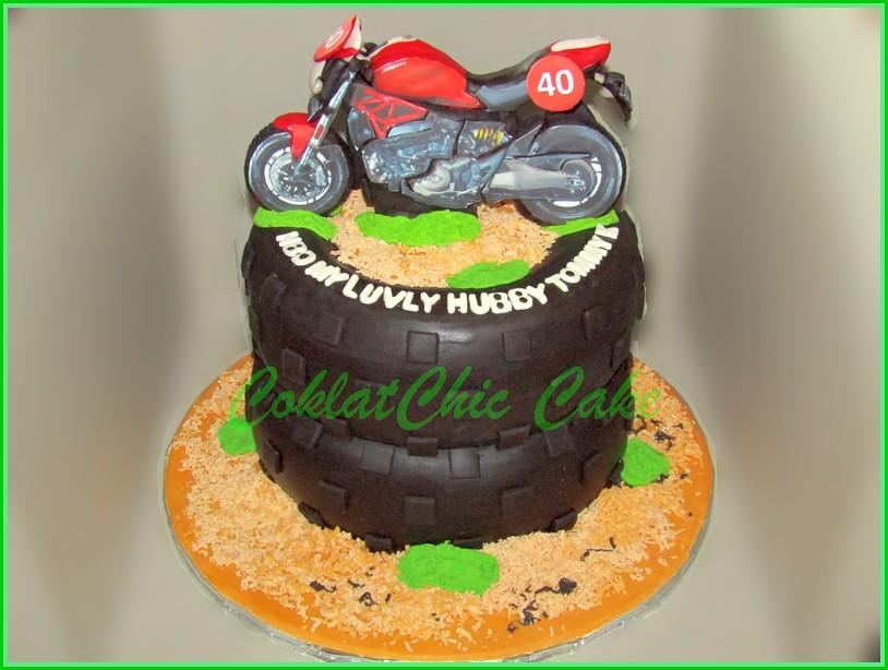 Cake Motor Ducati - TOMMY K 20cm