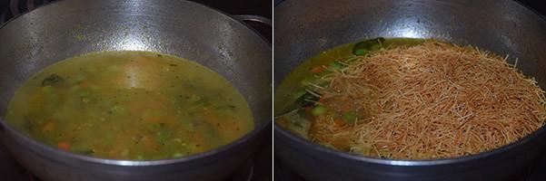 Semiya/Vermicelli Upma cooking steps by GoSpicy.net