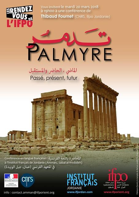 Palmyre : passé, présent, futur