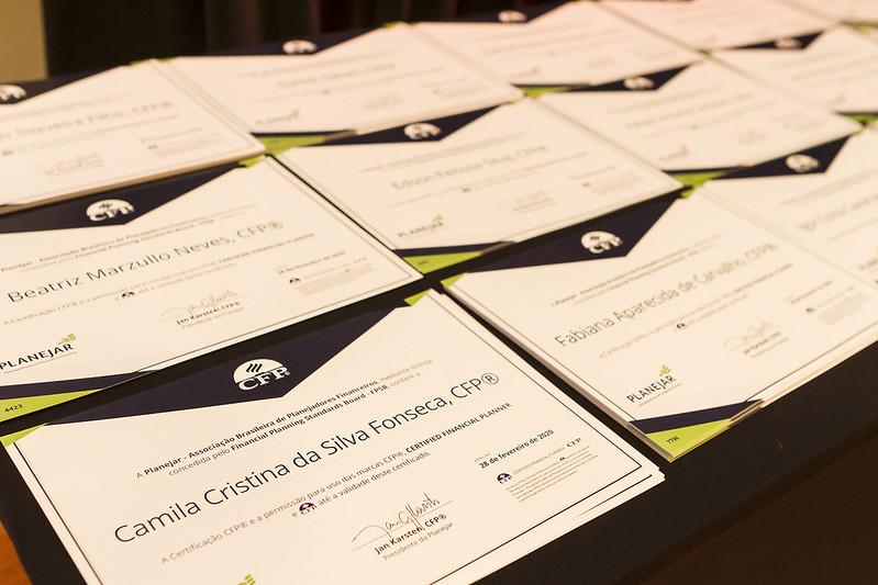Cerimônia de Certificação da 27ª Turma de Profissionais CFP - São Paulo