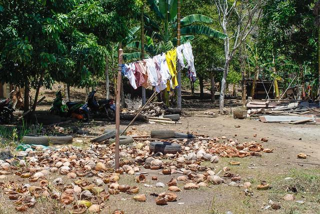 Vida cotidiana de los pescadores en Danau Ngade